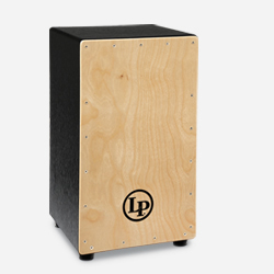 LP1428NYN - LP® Black Box Wire Cajon with Natural Faceplate