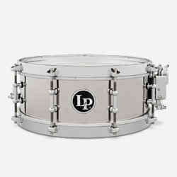 "LP4512-S 4 1/5"" x 12"" STAINLESS STEEL SALSA SNARE"