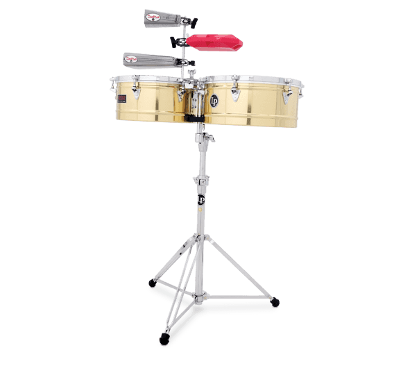 """LP1314-B - LP® Prestige  13"""" and 14"""" Timbales - Brass"""