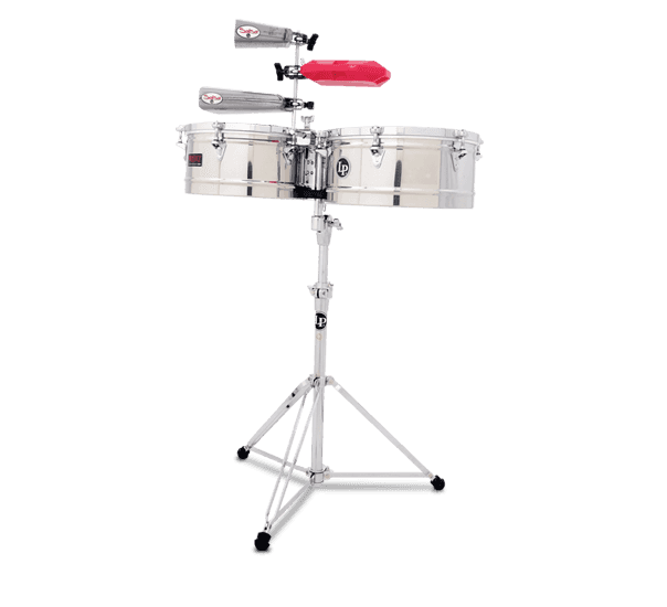 """LP1314-S - LP® Prestige  13"""" and 14"""" Timbales - Stainless"""