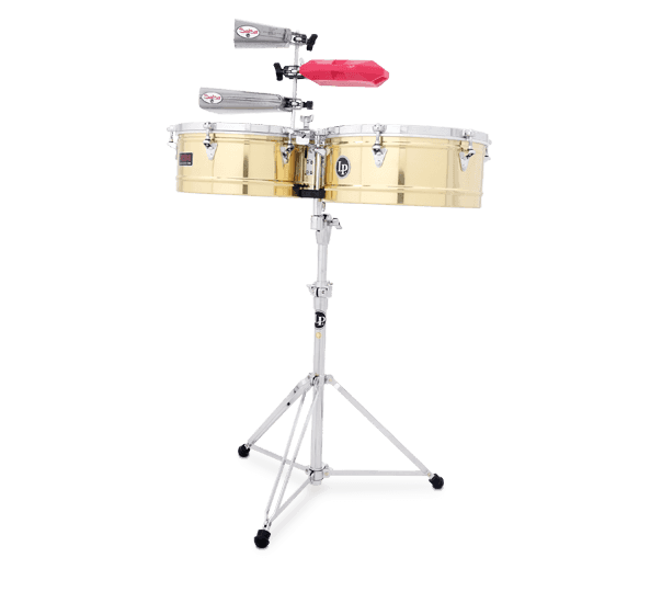 """LP1415B - LP® Prestige  14"""" and 15"""" Timbales - Brass"""