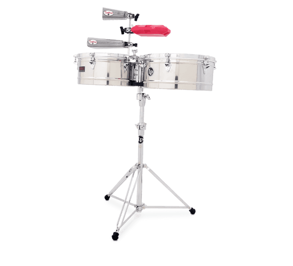 """LP1415S - LP® Prestige  14"""" and 15"""" Timbales - Stainless Steel"""