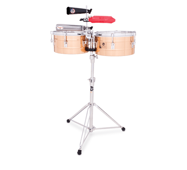 """LP255BZ - LP® Tito Puente  12"""" and 13"""" Timbales - Bronze"""