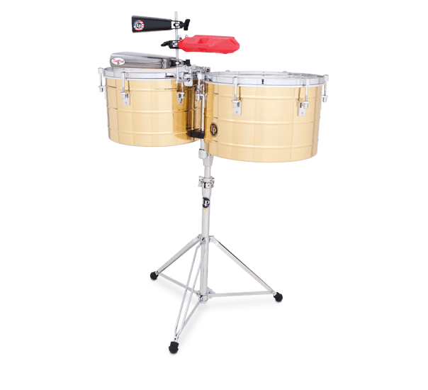 """LP258B - LP® Tito Puente  15"""" and 16"""" Thunder Timbs - Brass"""