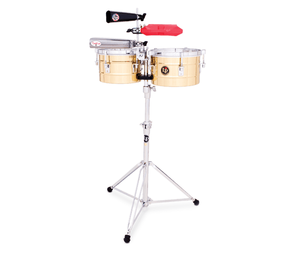 """LP272B - LP® Tito Puente  9-1/4"""" and 10-1/4"""" Timbalitos - Brass"""