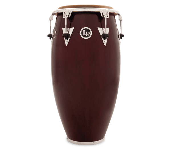 LP559T-DW- LP® CLASSIC TOP TUNING WOOD CONGA DARK WOOD/CHROME