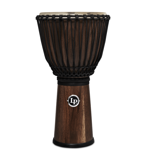 LP799-SW - LP® 12 1/2-Inch Rope Tuned Siam Walnut Djembe